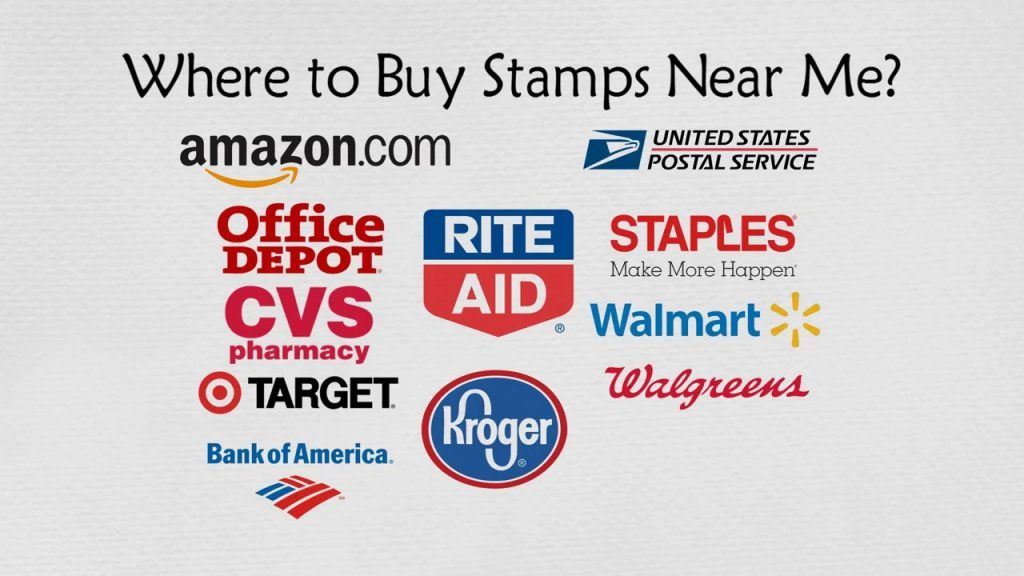 image of locations where to buy stamps in the US and UK