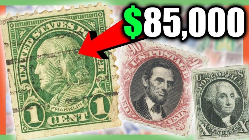 image of US Post Office rare stamps worth money for the reviewed list of the most valuable stamps in the world